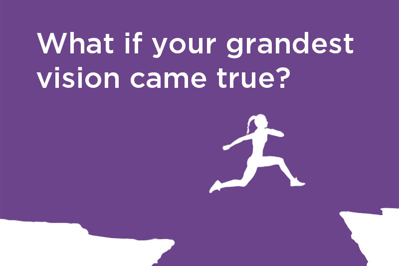 What if your grandest vision came true? Poem and Blog by Stephan Stubbins