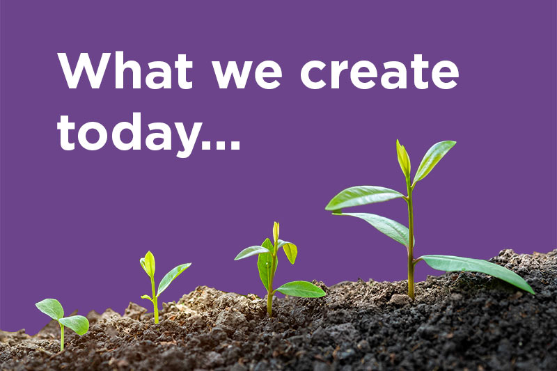 What we create today - a new poem and blog by Stephan Stubbins